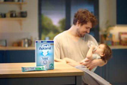 Formula milk: innovative pre measured tab format for UK market