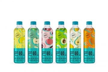 Lightweight PET bottle, sustainable packaging. Target: young consumers in China