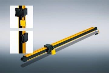 PSENopt light curtain: efficient lockout to prevent an unintended restart