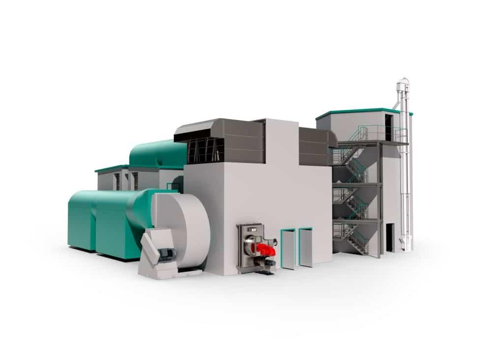 The RimoMalt's heating unit