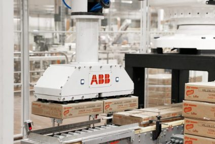 Robot IRB 660 ABB to improve the productivity of pallet loading