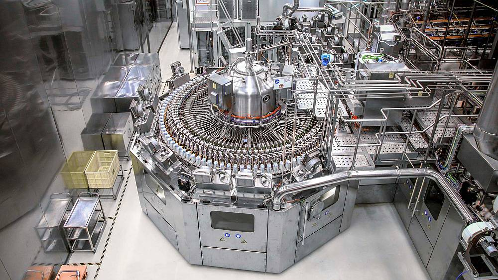 Aseptic flexible production