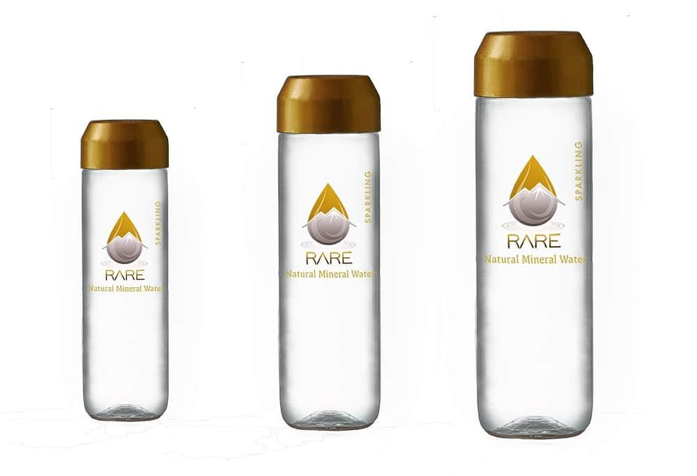 PET an glass bottles