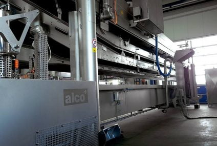 Meat processing plant: high quality from alco fryers for Brazilian market