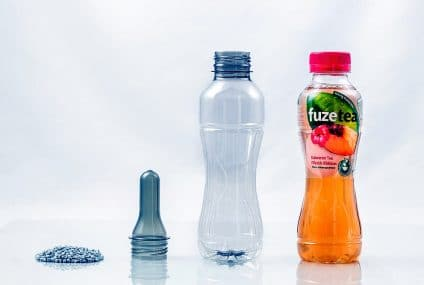 Recycled material for bottles with innovative technologies as part of circular economy