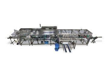 Flexibility in secondary packaging: high speed machine for organic beverage