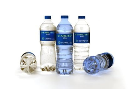 Light weight bottle: the greener solution with Starlite and Supervent