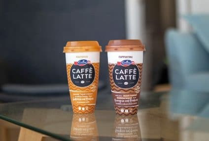 Recyclable coffee cup: innovative packaging for Emmi CAFFÈ LATTE