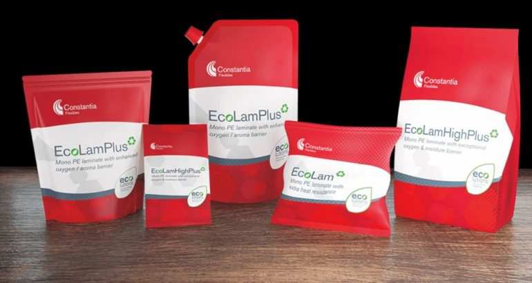 EcoLam packaging with high barrier and high recyclability proprerties