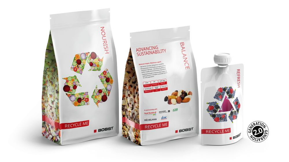 Mono material packaging