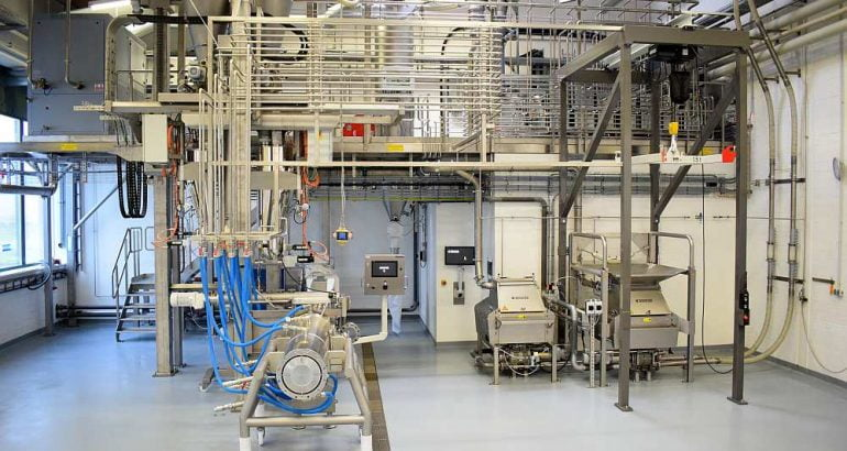Technology Center Proteins of the Future for extruded meat substitutes