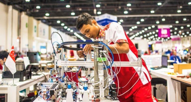 WorldSkills, the World Championships for Vocational Training in Shanghai